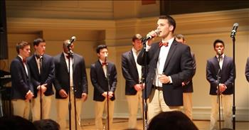 A Cappella Gentlemen Sing Incredible Version Of 'Amazing Grace'