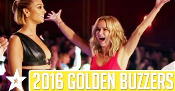 Amazing Golden Buzzer Moments From Britain's Got Talent