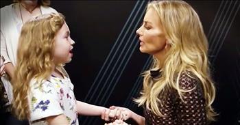 Faith Hill Sings Precious Duet With Her Littlest Fan