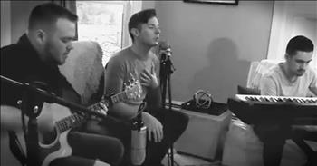 3 Men Perform Acoustic Rendition Of Hollyn's 'Alone'