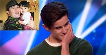 Father Surprises Son Before Britain's Got Talent Audition