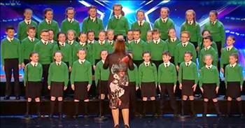 Irish Children's Choir Hit Right Notes With Talented Audition
