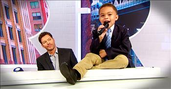 Harry Connick Jr. And Toddler Perform Duet Of 'He's Sweet I Know'