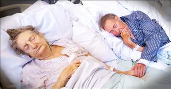 Couple Married 67 Years Move Hospital Beds Together