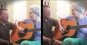 Mother With Alzheimer's And Son Share Amazing Duet
