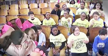 Children's Chorus Sings A 'Fight Song' For Sick Girl