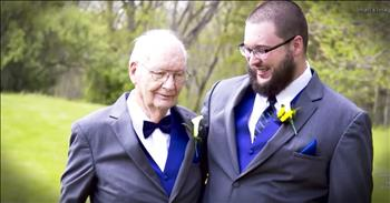 90-Year-Old Grandpa Becomes Best Man
