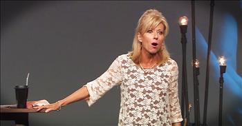 Beth Moore Asks If We Are Letting Our Kids Be Ungodly