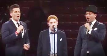 Christopher Duffley And The Tenors Sing 'Time To Say Goodbye'