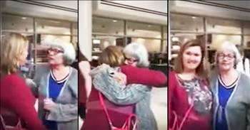 Woman Meets Daughter She Gave Up At 17