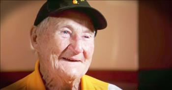 99-Year-Old Usher Is Still Going To Work