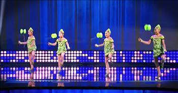 Kid Dance Team Yo-Yos Skills Are So Good
