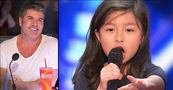 9-Year-Old Charms Judges With 'My Heart Will Go On'