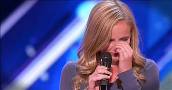 Small Town Girl Auditions For Dad Fighting Cancer