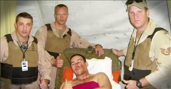 Air Force Heroes Reunite After Deadly Attack