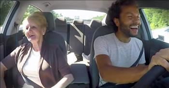 Son Helps Mom With Bucket List