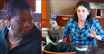 Strangers Stand Up To Harsh Mother