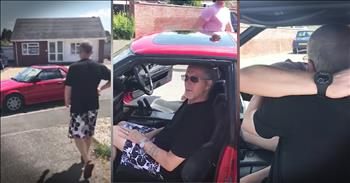 Son Surprises Dad With New Car