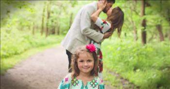 Man Proposes To Girlfriend And Her Daughter