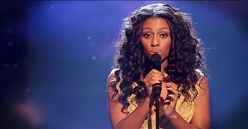 'Hallelujah' Performance From X Factor's Alexandra Burke