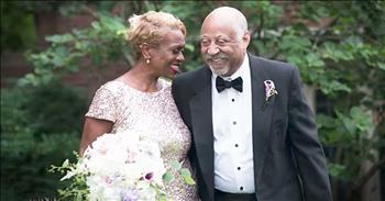 Couple Recreate Their Lost Wedding Photos