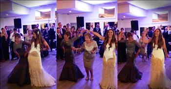 Sick Single Mom And Daughter Dance At Wedding
