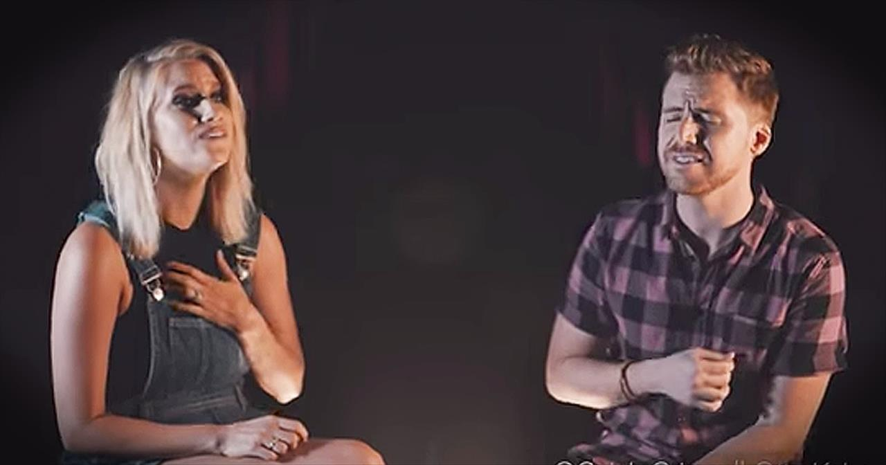 Christian Couple Sing 'Oceans' And 'You Make Me Brave' - Christian Music  Videos