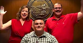 Kind Family Officially Adopts 18-Year-Old