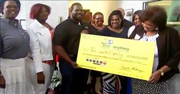 Powerball Winners Give Back To Hometown