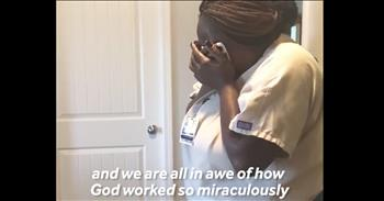 Nurse Receives Gift From Late Patient's Family