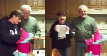 Grandma Reacts To Daughter Having Triplets