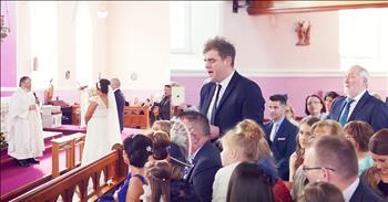 'How Great Thou Art' Wedding Flash Mob