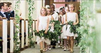 Teacher Includes 20 Kindergarten Students In Wedding