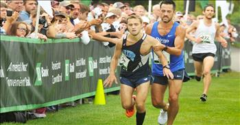 Rival Helps Fallen Runner To Finish Line