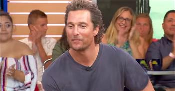 Matthew McConaughey Shares Biblical Inspiration For Son's Name