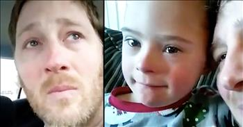Dad Cries Saying Down Syndrome Is The Most Beautiful Thing
