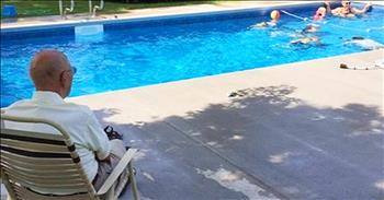 Lonely 94-Year-Old Puts In Pool For Neighborhood Kids