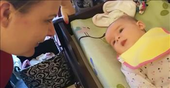 5-Month-Old Baby Says 'I Love You'