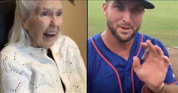 Grandma Receives Sweet Message From Tim Tebow