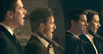 Male Quartet Il Divo Sings 'Amazing Grace'
