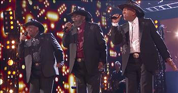 Singing Trio Earn Standing Ovation With Original Song Audition