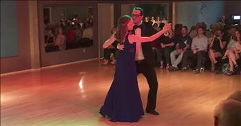 Waltz Competition Turns Into Surprise Proposal