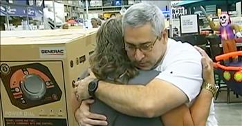 Lowe's Stranger Gives Crying Woman Last Generator