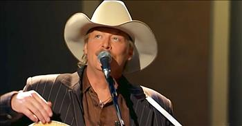 'Leaning On The Everlasting Arms' - Alan Jackson Performance