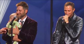 'Thank God For Kids' - Men's Quartet Sings Touching Song