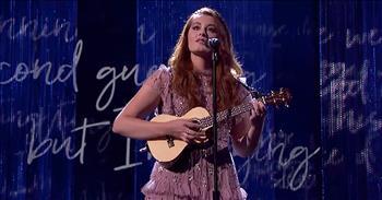 Deaf Singer Mandy Harvey Performs 'This Time'