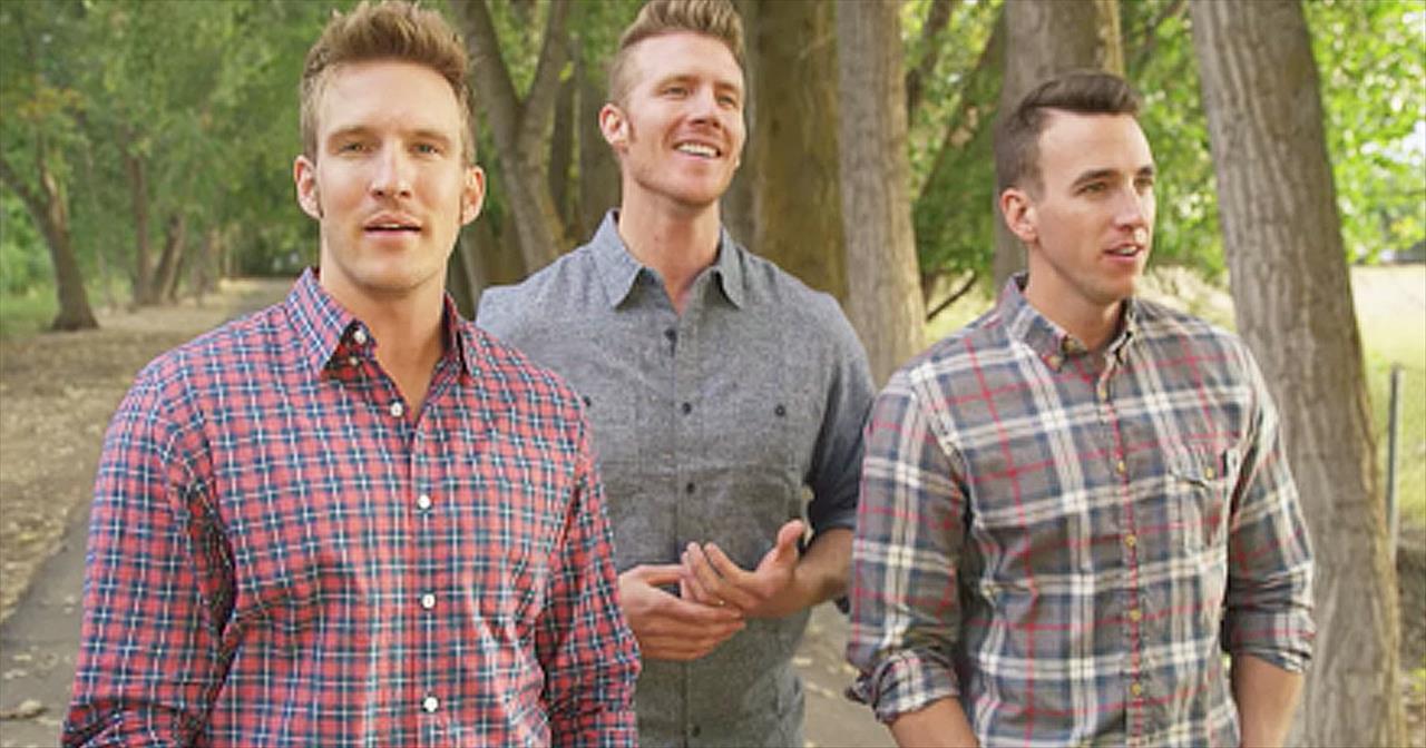 Gentlemen Trio Sings 'Bless The Broken Road'