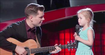 Dad And Daughter Duet After His Audition