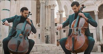 2 Men With Cellos Performance 'Love Story'