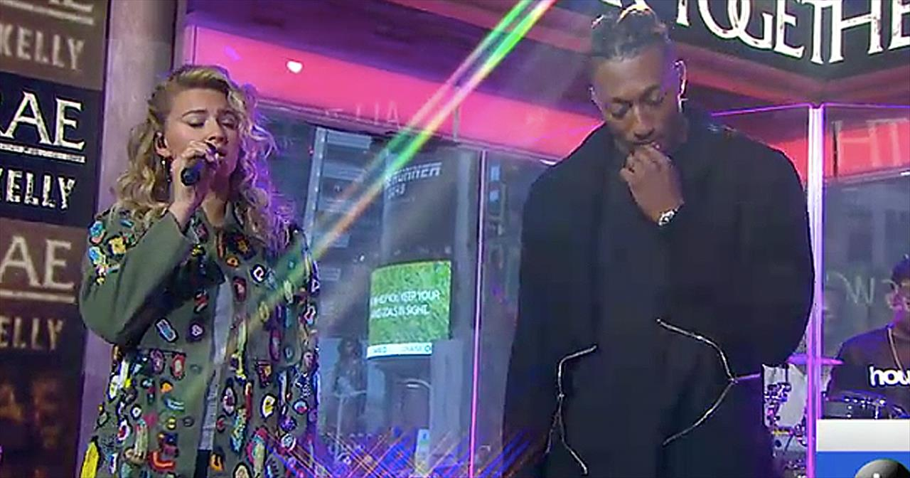 Lecrae And Tori Kelly Perform 'I'll Find You' On Live TV